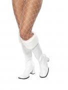 Stivali da Mamma Natale bianchi donna