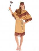 Costume indiana pelle rossa per donna