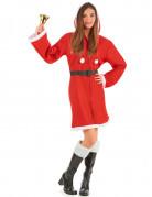 Mantello natalizio per donna
