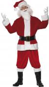 Costume Babbo Natale lusso adulto