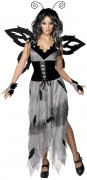 Costume farfalla gotica donna Halloween