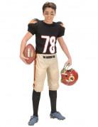 Costume da giocare di football americano per bambino