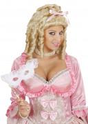 Parrucca bionda da principessa donna