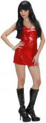 Costume corto rosso da discoteca