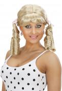 Parrucca bioda 2 code donna