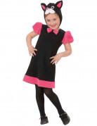 Costume gatto elegante per bambina