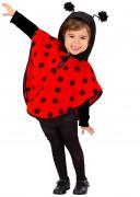 Poncho coccinella bambina