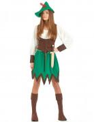 Costume donna eroe dei boschi