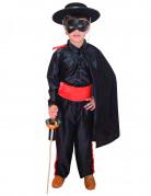 Costume giustiziere eroe mascherato bambino