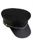 Cappellino motociclista uomo