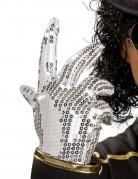 Guanto paillettato argento Michael Jackson™ bambino