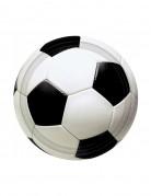 8 piattini pallone da calcio