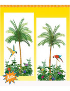 Decorazioni murali palme