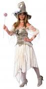 Costume strega magica lusso donna Halloween