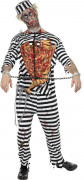 Costume zombie prigioniero uomo Halloween