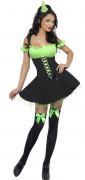 Costume strega verde sexy donna Halloween