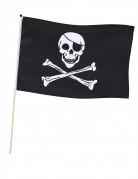 Bandiera pirata con asta