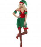 Costume elfo di Natale donna