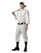 Costume giocatore da baseball uomo