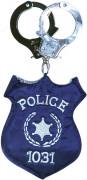 Borsa distintivo di polizia