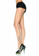 Collant tattoo pirata donna - Premium