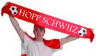 Sciarpa tifosi Svizzera