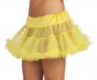 Sottogonna giallo donna