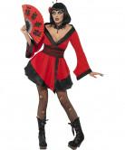 Costume geisha gotica halloween donna
