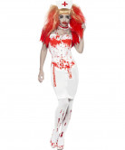 Costume infermiera insanguinata adulto Halloween