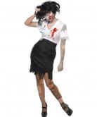 Costume segretaria zombie donna Halloween