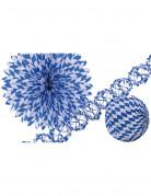 Set decorativo blu e bianco