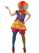 Costume clown adulti donna