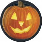 8 piatti zucca Halloween