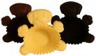 6 Formine per muffins cane