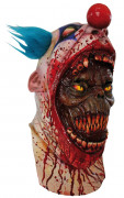 Maschera clown sanguinario