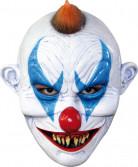 Maschera clown malefico adulti Halloween