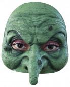 Mezza maschera strega adulto Halloween