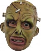 Maschera mostro verde adulto Halloween