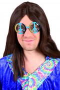 Occhiali hippie adulto