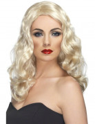 Parrucca lunga bionda da donna