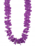 Collana Hawaii di fiori viola