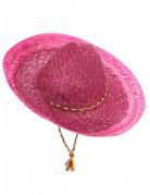 Sombrero messicano rosa adulto