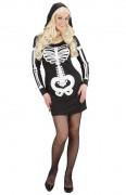 Costume scheletro donna