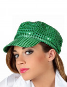 Berretto disco verde adulto