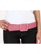 Cintura brillante rosa donna