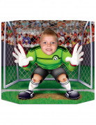 Cartellone per photobooth portiere di calcio
