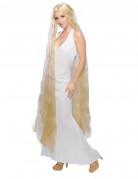 Parrucca principessa capelli lunghi donna