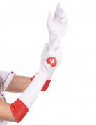 Guanti lunghi infermiera