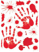 Adesivi tracce di sangue
