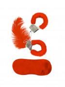 Kit accessori ecopellicia rossa per adulti